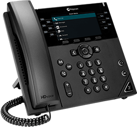 Polycom VVX 450 Brand New Ip Phone With Power Adapter